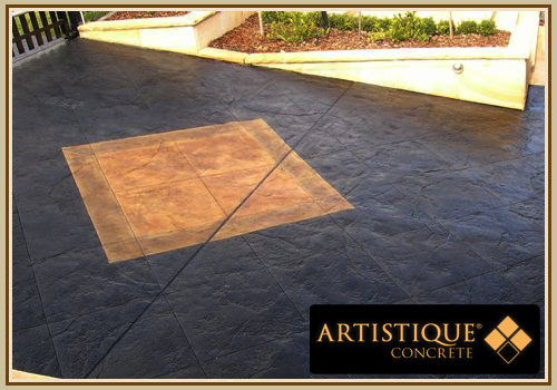 Acid Stained Concrete Driveway - Image 13