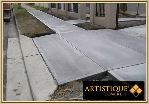 Concrete Council Driveway and Gutter - Image 34